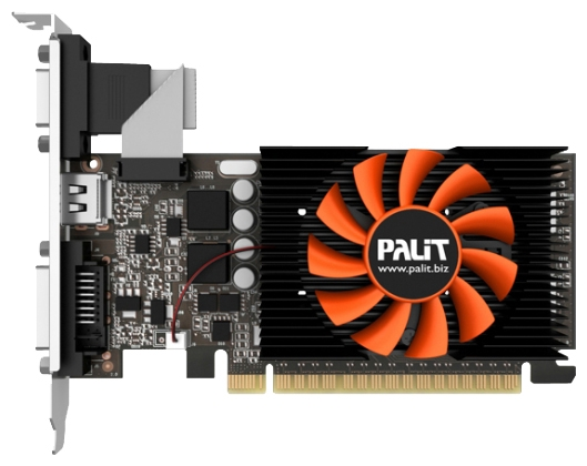 Фото: Видеокарта Palit / GeForce GT640  / 1Gb DDR5 64bit / NE5T6400HD06-2081F