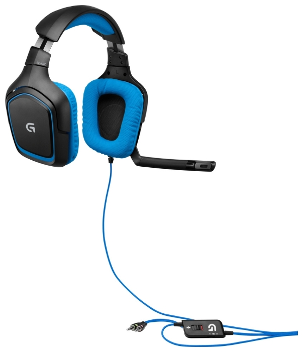 Фото: Наушники LOGITECH G430 Gaming Headset (981-000537)