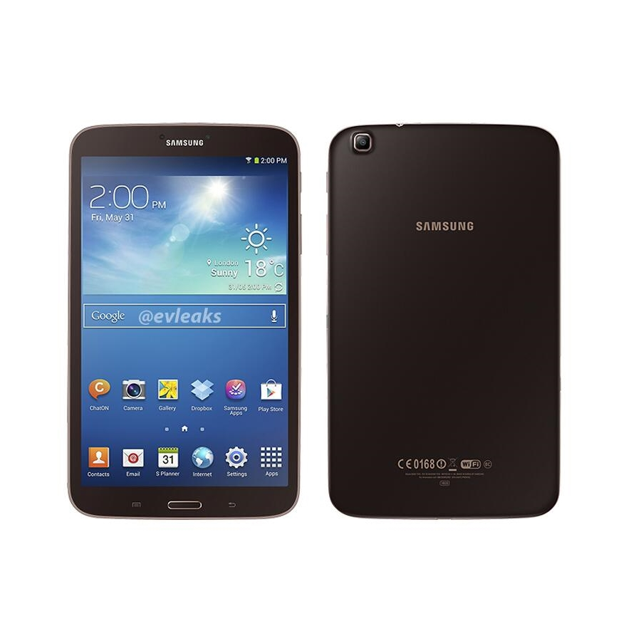 "Фото: Планшетный ПК 8"" Samsung Galaxy Tab 3 (SM-T3100GNASEK) Gold Brown"