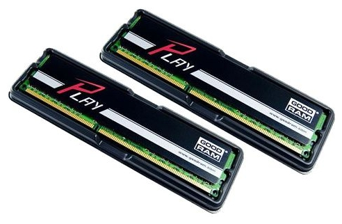 Фото: Модуль памяти DDR3 8Gb (2 x 4Gb) PC3-12800 (1600MHz) Goodram Play (GY1600D364L9/8GDC)