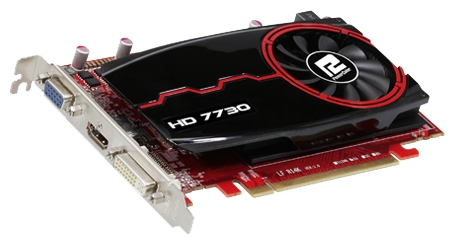 Фото: Видеокарта PowerColor / Radeon HD7730 / 2Gb DDR3 / 128-bit / AX7730 2GBK3-HE