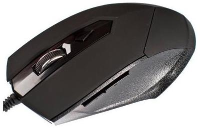 Фото: Мышь HI-RALI HI-M8138 Gaming black USB