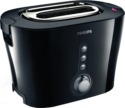 Фото: Тостер Philips HD2630/20 черный