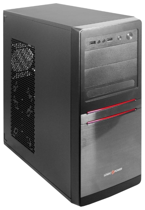Фото: Корпус Logicpower 5852-TT 450W 12cm black chassis and PSU