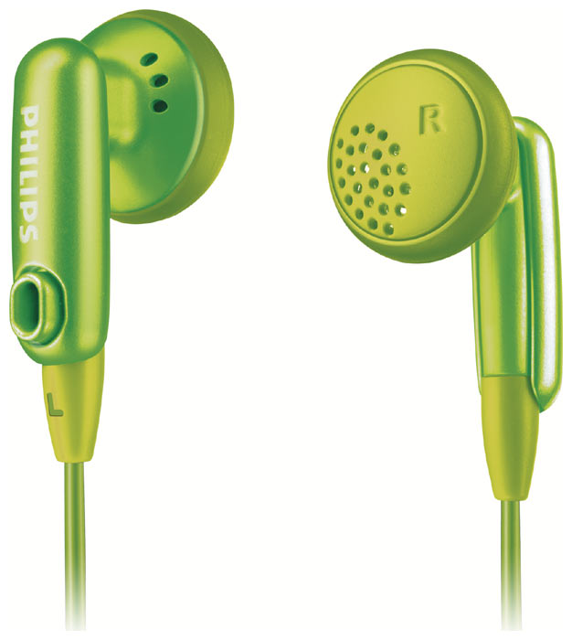 Фото: Наушники Philips SHE2616 green