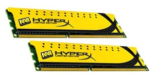 Фото: Модуль памяти DDR3 8Gb (2x4Gb) PC3-12800 (1600MHz) Kingston Navi HyperX / KHX16C9C2K2/8
