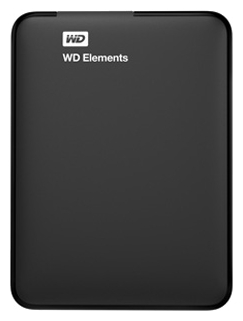 Фото: Внешний жесткий диск HDD 500Gb Western Digital Elements SE Portable (WDBUZG5000ABK) / Black