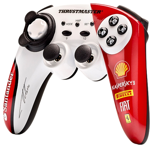 Фото: Геймпад Thrustmaster F150 Italia Alonso Limited Edition WL PC/PS3