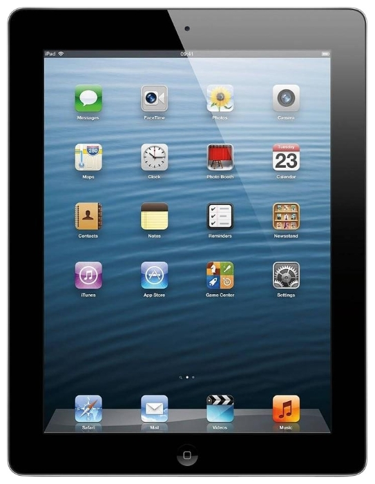 Фото: Tablet PC Apple iPad 4 4G 16G Black
