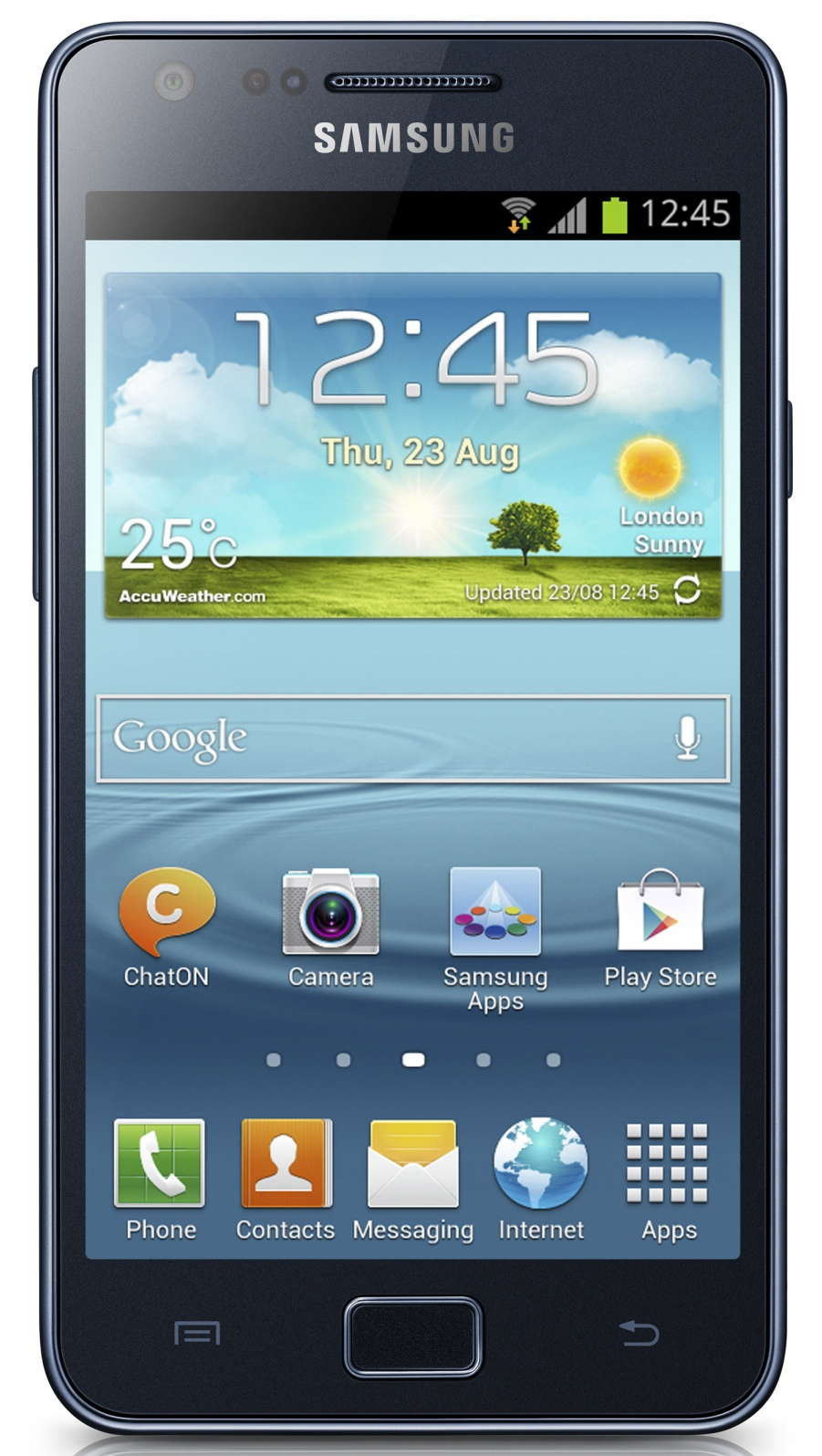 Фото: Смартфон Samsung Galaxy S2 Plus i9105 Blue/Grey