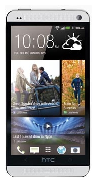 Фото: Смартфон HTC One (801e) Gracier White