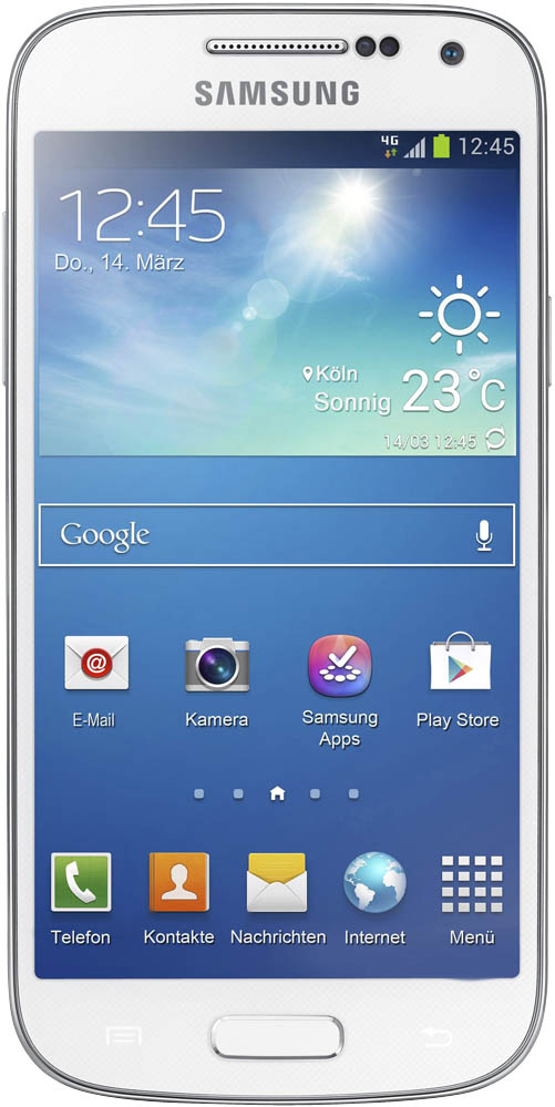 Фото: Смартфон Samsung Galaxy Ace 3 S7272 Pure White