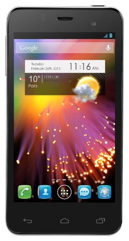 Фото: Смартфон ALCATEL One Touch 6010D STAR Dual SIM Silver