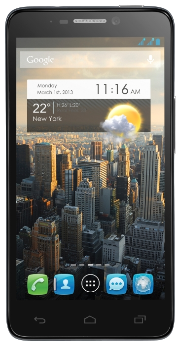 Фото: Смартфон ALCATEL One Touch 6030D IDOL Dual SIM Black