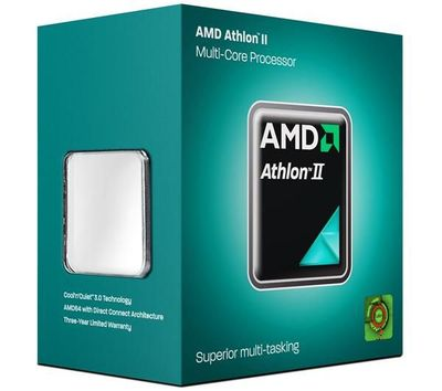 Фото: Процессор AM3 AMD Athlon II X3 455 box