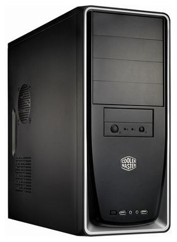 Фото: Корпус CoolerMaster Elite 310 (RC-310-SKN1-GP) без БП, Black Silver