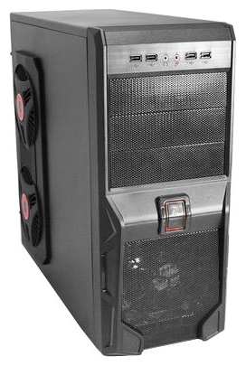 Фото: Корпус Logicpower 8701 Black / 550W
