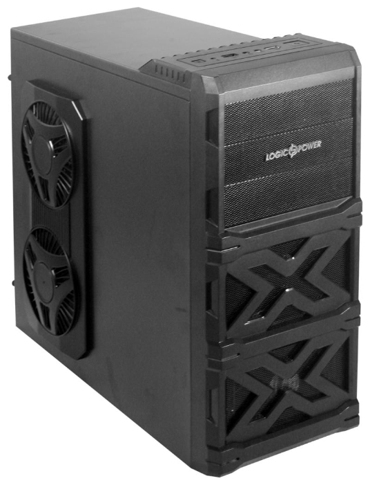 Фото: Корпус Logicpower 8706 Black 550W