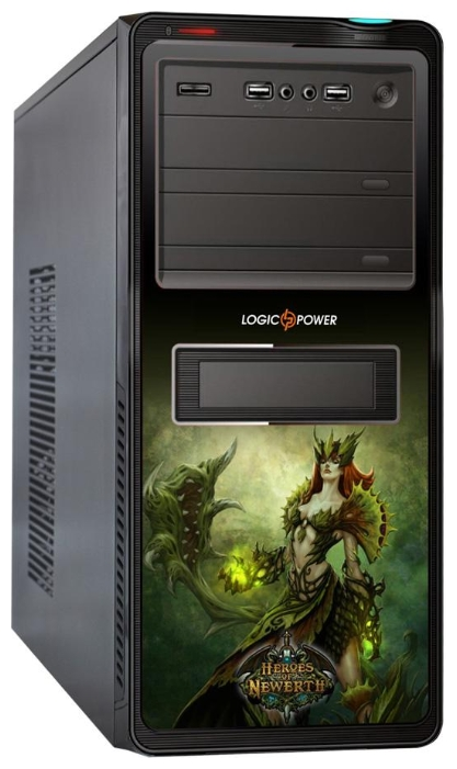 Фото: Корпус Logicpower 8817 GE-10 GAMER EDITION 500W