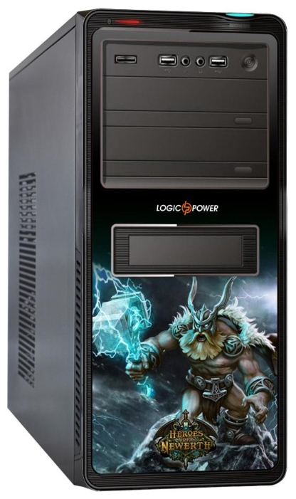 Фото: Корпус Logicpower 8817 GE-15 GAMER EDITION 500W
