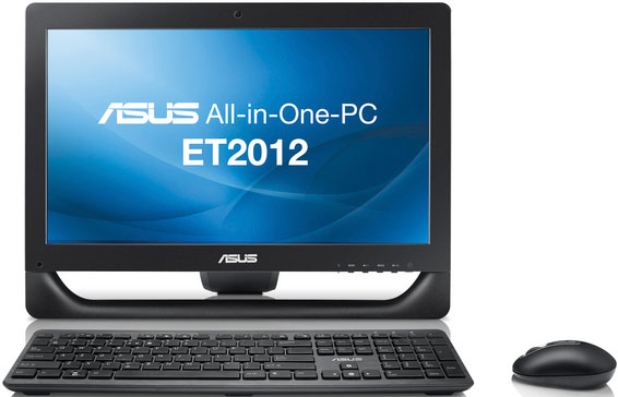 "Фото: Моноблок All-in-one Asus 20"" EeeTop ET2012IGTS-B022C Black / 20"