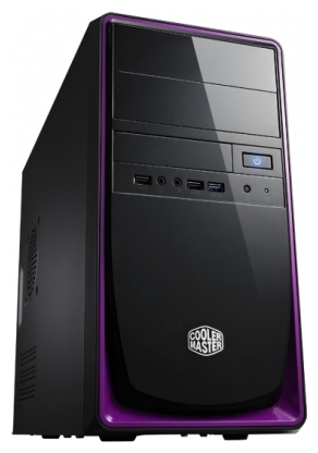 Фото: Корпус Cooler Master Elite 344 Black/Purple (RC-344-PKP500-N1) 500W