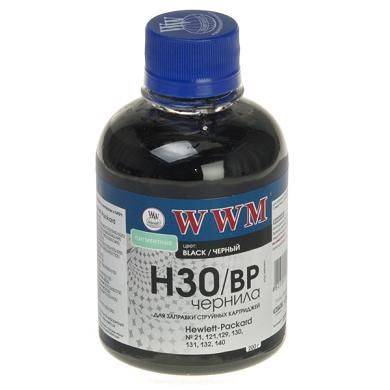 Фото: Чернила WWM HP 21 (Black Pigmented) H30/BP, 200 г