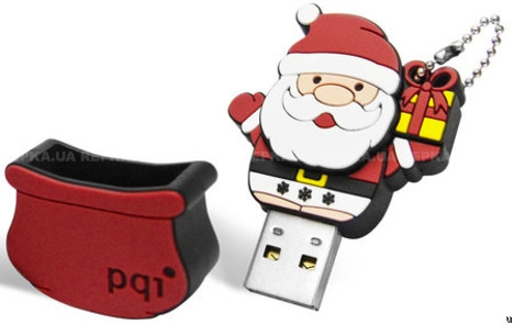 Фото: USB Flash Drive 4 Gb PQI  Santa Claus U826 Rubber