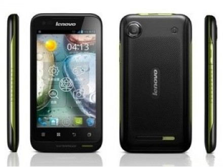 Фото: Смартфон Lenovo A660 Black / 2 Sim Waterproof
