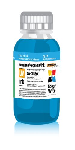 Фото: Чернила ColorWay Epson L100/L200 Cyan (CW-EU100С01)