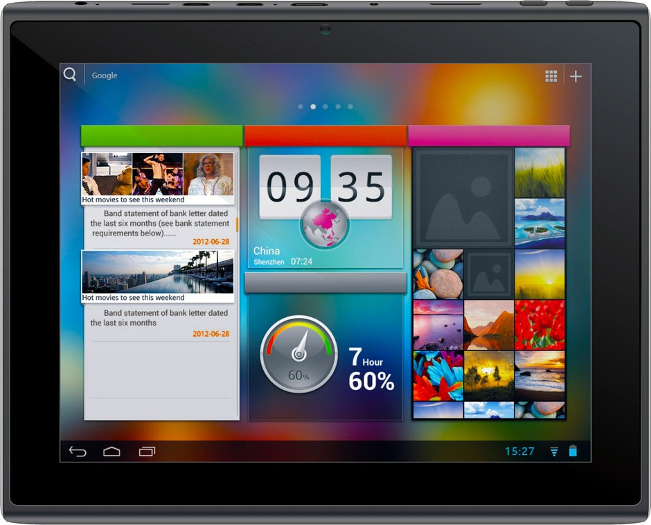 "Фото: Планшетный ПК 8"" Pipo Max-M5 Black / 16Gb / емкостный Multi-Touch (1024x768) IPS / Rockchip RK3066 Cortex A9 Dual Core 1,6GHz / RAM 1Gb / ROM 16Gb / no GPS / no 3G / Wi-Fi / BT / 2 Cam (2Mp + 0,3Mp) / Android 4.1"