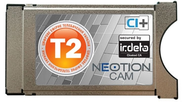 Фото: CAM-модуль DVB-T2 Neotion Irdeto Cloaked CA