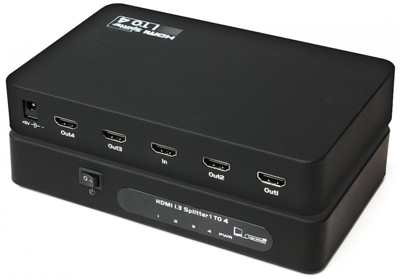 Фото: Сплитер HDMI 4 Port Viewcon VE401