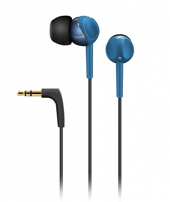 Фото: Наушники SENNHEISER CX215 Blue (Для плейера) (оригинал)