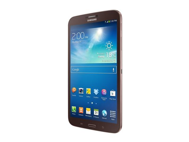 "Фото: Планшет Samsung Galaxy Tab 3 T310 DualCore 1.5GHz 8.0"" PLS 1.5Gb/SSD16Gb/BT/WiFi/Gold Brown  SM-T3100GNASEK"