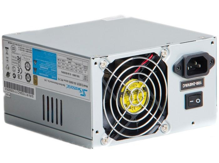 Фото: Блок питание Seasonic SS-350ES-F3 350W, 8 cm ball-bearing fan, A.PFC(99%), MTBF > 100,000 hours, ATX12V v2.31, (100-240V), 80 plus Bronze, Short circuit protection on all outputs, Over voltage protection & Over power protection, CUL, TUV, CB, CCC,C