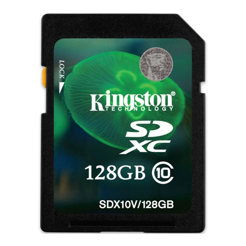 Фото: Карта памяти 128 GB SD Kingston SDXC Class 10 Value (SDX10V/128GB)