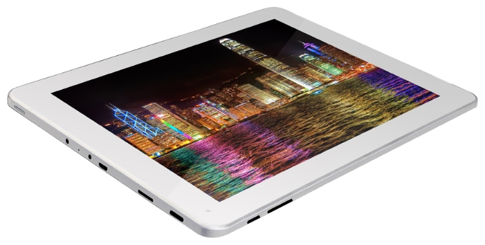 "Фото: Планшетный ПК 9,7"" IconBIT NetTAB SPACE QUAD RX (NT-0902S) White-Silver / 16Gb / G-сенсор / емкостный Multi-Touch (2048x1536) Retina IPS / Quad Core Cortex A9 1,6GHz / RAM 2Gb / ROM 16Gb / no GPS / no 3G / Wi-Fi / no BT / 2 Cam (2Mp + 2Mp) / Android"