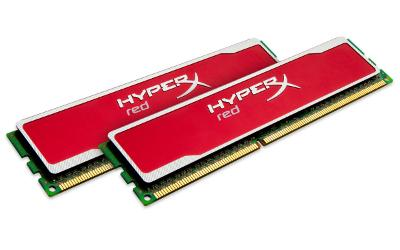 Фото: Модуль памяти DDR-III 2 x 2Gb 1600MHz Kingston HyperX Blu Red KHX16C9B1RK2/4
