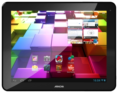 "Фото: Планшетный ПК 9,7"" Archos Arnova 97 G4 9.7"" (1024x768) / Dual-Core ARM Cortex™ A9 @ 1.6 GHz / Quad-Core Mali-400 / 1 Gb /8 Gb + microSD slot (up 32 Gb) / WiFi / miniHDMI / 2xCam 2 MP / Android 4.1 / Black / 700 g"
