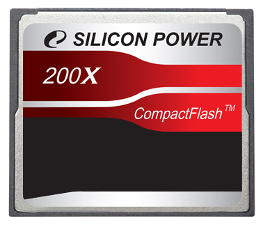 Фото: Карта памяти 4 Gb Compact Flash SILICON POWER 200X