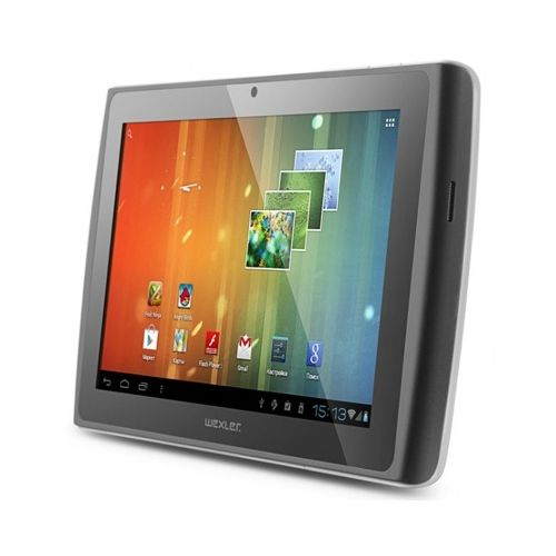 "Фото: Планшетный ПК Wexler TABLET 7I 7"" 8GB WI-FI+3G/White 7"" Multi-touch(1024*600) IPS/Pockchip RK2918(1.2GHz)/1Gb/8Gb SSD/GC800 Graphics/WiFi b/g/n/BT 3.0/3G/Camera 0.3M Front+ 2,.M rear/Android 4.0/Slot- microSD up to 32Gb, FullSize USB, microHDMI"