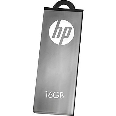 Фото: USB Flash Drive 16Gb HP V220W Metal Silver / 18/8Mbps / FDU16GBHPV220W-EF