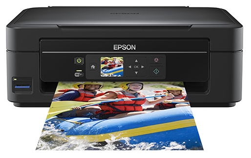 Фото: МФУ струйное Epson Expression Home XP-303 Wi-Fi  (C11CC09311) Black + КПК WWM + 4x100 г