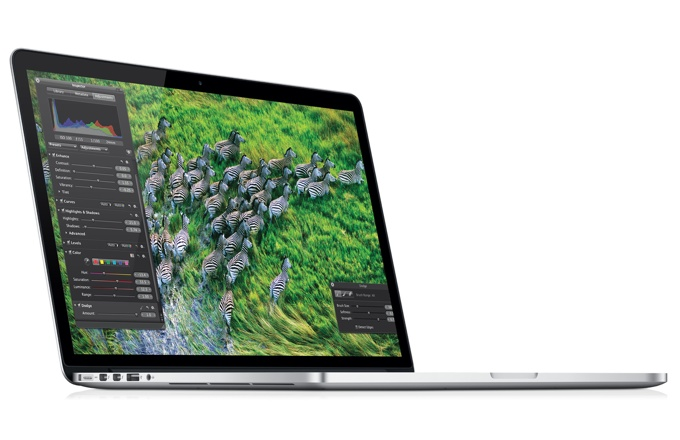 "Фото: Apple MacBook Pro (ME664LL/A) 15.4"" Retina display (2880x1800) /Intel Core i7 Quad-Core 2.4GHz (Turbo Boost up to 3.4GHz)/ 8GB / 256GB SSD / Intel HD Graphics 4000+ NVIDIA GeForce GT 650M with 1GB/Wi-Fi 802.11a/b/g/ Bluetooth 4.0/ FaceTime HD Camera"