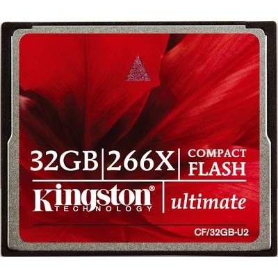 Фото: Карта памяти 32 GB CF Kingston Ultimate 266x (CF/32GB-U2)