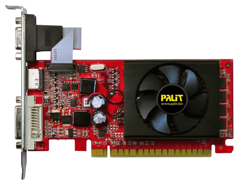 Фото: Видеокарта Palit GeForce GF210 1024Mb DDR3, HDMI, VGA, PCI-E (NEAG2100HD06) гарантия 12 мес.