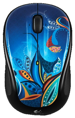 Фото: Мышь Logitech M325 Wireless Paisley Pond USB (910-003894)