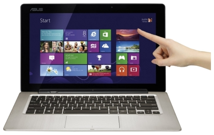 "Фото: Ультрабук Asus Transformer Book TX300CA-C4032H 13,3"" Gray + сумка!"