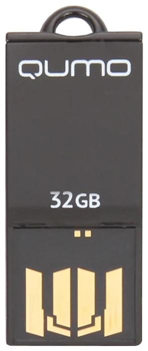 Фото: USB Flash Drive 32GB Qumo Sticker Black (QM32GUD-STR-Black) цвет корпуса черный